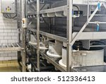 automated equipment for the... | Shutterstock . vector #512336413