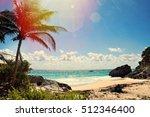 beautiful view in cancun mexico | Shutterstock . vector #512346400