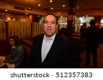 Small photo of NEW YORK CITY - NOVEMBER 4 2016: Key figures in New York's Democratic Party gathered at Junior's in Brooklyn for Steve Cohn's annual pre-election breakfast.
