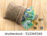 money  australian dollars  aud  ... | Shutterstock . vector #512369260