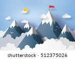 illustration of nature... | Shutterstock .eps vector #512375026