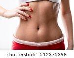 closeup of a good shaped woman... | Shutterstock . vector #512375398