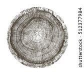 Vector Wood Texture Of Wavy...