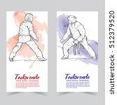 taekwondo banners.   Shutterstock .eps vector #512379520