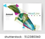 unusual abstract corporate... | Shutterstock . vector #512380360