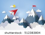 illustration of nature... | Shutterstock .eps vector #512383804