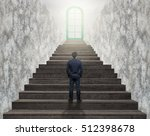 businessman standing for... | Shutterstock . vector #512398678