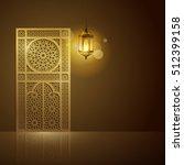 isalmic vector greeting design... | Shutterstock .eps vector #512399158