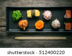 Sushi Set And Sushi Rolls...
