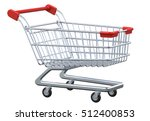 perspective view empty shopping ... | Shutterstock . vector #512400853