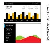 graphs and charts set....