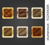 set of shiny sand  square...