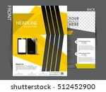 flyer design background.... | Shutterstock .eps vector #512452900