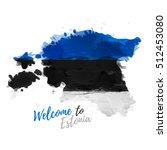 symbol  poster  banner estonia. ...