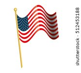 united states of america flag | Shutterstock .eps vector #512453188