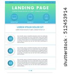 landing page template  website...