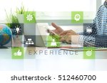 experience concept | Shutterstock . vector #512460700