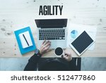 Small photo of COMMUNICATION TECHNOLOGY BUSINESS AND AGILITY CONCEPT