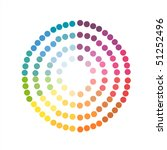 color wheel | Shutterstock .eps vector #51252496