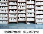 front view of wooden...   Shutterstock . vector #512550190