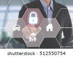 business employees  insurance... | Shutterstock . vector #512550754