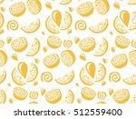 lemon and orange juice... | Shutterstock .eps vector #512559400