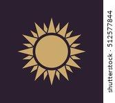 the sunshine icon. sunrise and...