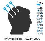 neural interface connectors... | Shutterstock . vector #512591800