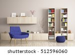 modern living room interior... | Shutterstock . vector #512596060