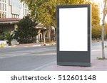 billboard in the city | Shutterstock . vector #512601148