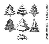 christmas illustration tree
