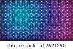 flower of life   intersecting... | Shutterstock .eps vector #512621290