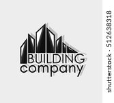 building company logotype. real ... | Shutterstock . vector #512638318