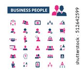 business people icons | Shutterstock .eps vector #512642599