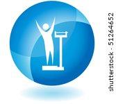 weight loss | Shutterstock .eps vector #51264652