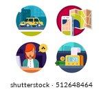 service taxi concept | Shutterstock .eps vector #512648464