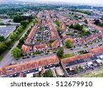 Aerial View Of Family Houses O...