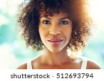 portrait of perfect afro... | Shutterstock . vector #512693794