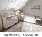 children's room in classic... | Shutterstock . vector #512706040
