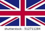 united kingdom flag | Shutterstock .eps vector #512711284