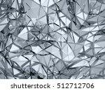 geometric three dimensional... | Shutterstock . vector #512712706