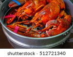 Close Up Of Maine Lobster In...
