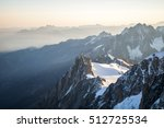 early morning near the summit | Shutterstock . vector #512725534