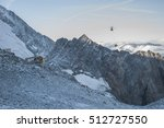 Rescue Helicopter On A Base Camp