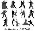 dance | Shutterstock .eps vector #51274411