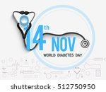 creative illustration poster or ... | Shutterstock .eps vector #512750950