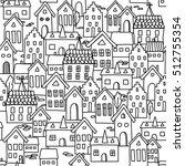 vector seamless pattern... | Shutterstock .eps vector #512755354