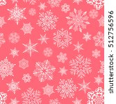 holiday backdrop  snowflake... | Shutterstock .eps vector #512756596