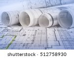 architectural project  | Shutterstock . vector #512758930