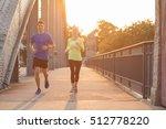 running in city | Shutterstock . vector #512778220